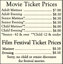 Movie Ticket Prices